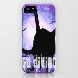 Go Diving! - Octopus iPhone Case
