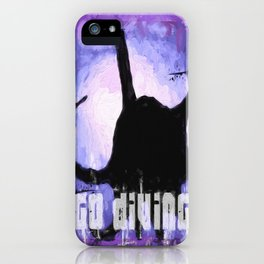 Go Diving! - Octopus iPhone Case