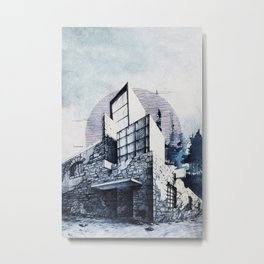 EXTENSION Metal Print