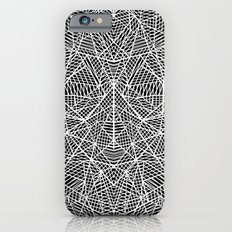 Abstract Lace on Black iPhone 6 Slim Case