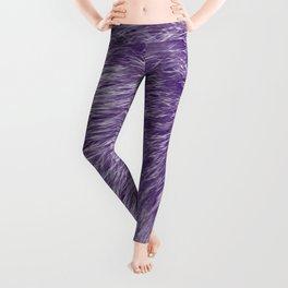 Lollipop Purple Fur Leggings