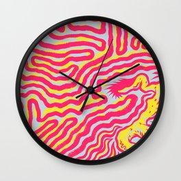 Coral Dud Wall Clock