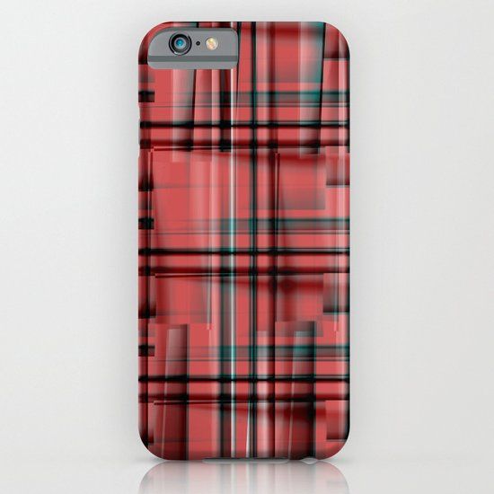 Pattern red 1 iPhone & iPod Case