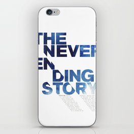 The neverending story iPhone Skin