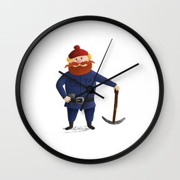 Yukon Cornelius 2016 Wall Clock