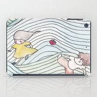 cook iPad Cases featuring Cook Party by Jane Chu