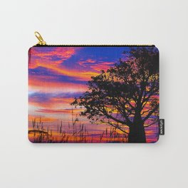 Mellow Yellow Sunset thru Boab Carry-All Pouch