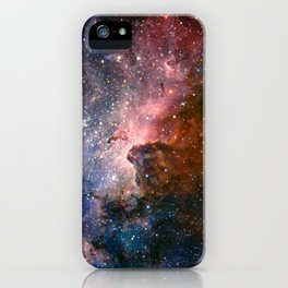 Carina Nebula's Hidden Secrets iPhone Case