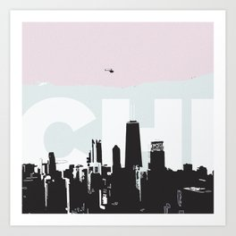 Chi Art Print