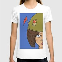 army T-shirts featuring Army Girl by ConnorEden