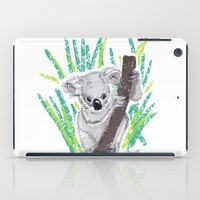koala iPad Cases featuring KOALA by Andrea Lacuesta Art