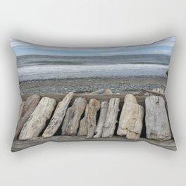 Deception Pass Planks Rectangular Pillow