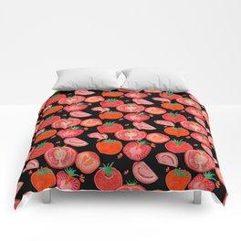 veggie patch Comforters