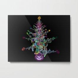 Tree-cristmas decortion Metal Print