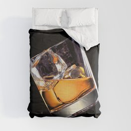 Whisky on the Rocks Comforters