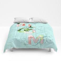 Vintage Bloom V2 #society6 Comforters