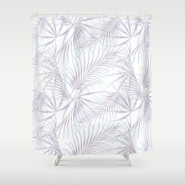 Palm leaves 3 Shower Curtain