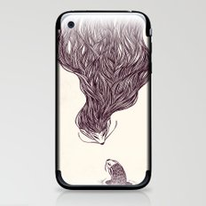 Father and son iPhone & iPod Skin