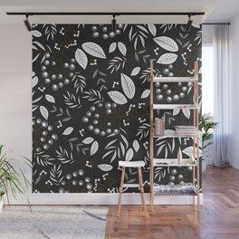 Leaves Pattern #2 Wall Mural