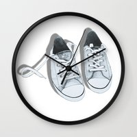 converse Wall Clocks featuring Converse by BlendByEli