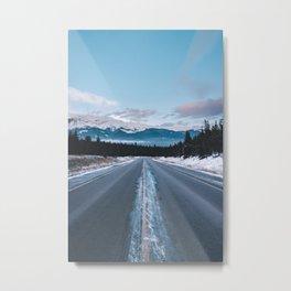Icefields Parkway, AB II Metal Print