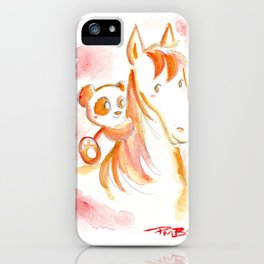 It's Never Too Late to Get Back On The Horse iPhone Case