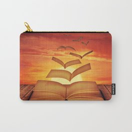 Escaped Thoughts Carry-All Pouch