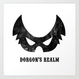 Dorgon's Realm Art Print