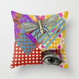 Kaleidoscope pattern Throw Pillow