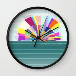 loco in acapulco Wall Clock