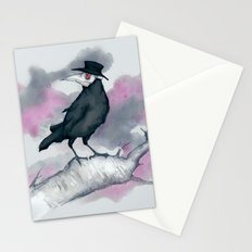 Plague Crow Stationery Cards