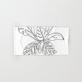 PLANT PORTRAITS - ORNATA PINSTRIPE - COOPER  AND COLLEEN Hand & Bath Towel