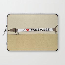 I love Sausages Laptop Sleeve