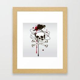 Evil Composition Framed Art Print