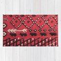 V22 Sheep herd Design Traditional Moroccan Carpet Texture. by mr0frankenstein