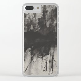 CHRISTMAS SHOPPING VINTAGE Clear iPhone Case