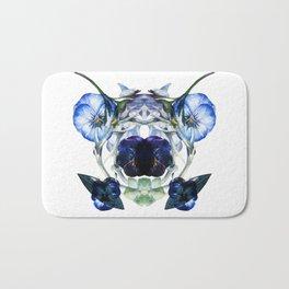 Flower Power Bluelove Bath Mat