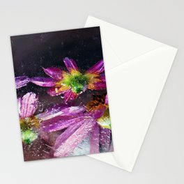 Coreopsis in Ice Stationery Cards