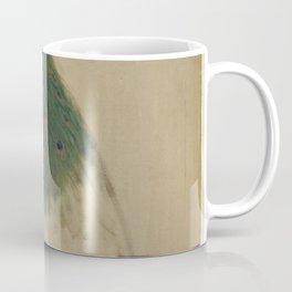 Peacock Sketch Coffee Mug