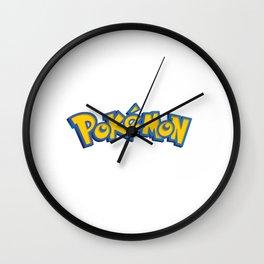 Poke Logo Wall Clock