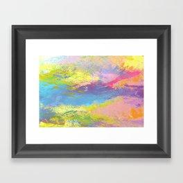 Color Smash Framed Art Print