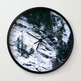 White Ravine Wall Clock
