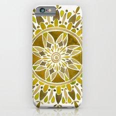 Gold Mandala Slim Case iPhone 6