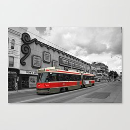 Red Rocket 4b Canvas Print