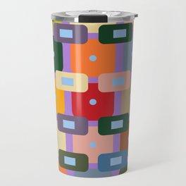 Colorfloat Abstract Travel Mug