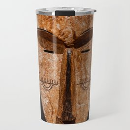Cameroon fang ngil african wooden mask Travel Mug