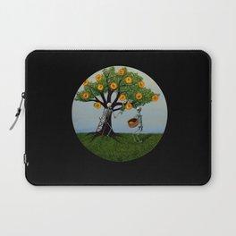 Embryo Tree (black background) Laptop Sleeve