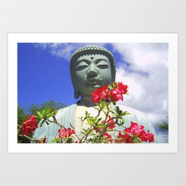 Buddah Serenity Art Print