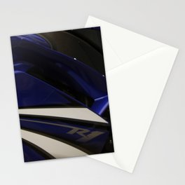 R1 motorcycle Stationery Cards