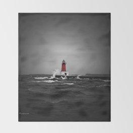 Lighthouse Glow Throw Blanket